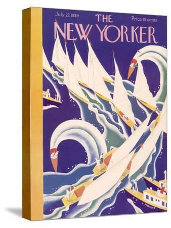 The New Yorker Cover - July 27, 1929
