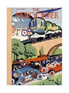 The New Yorker Cover - July 4, 1931 by Theodore G. Haupt