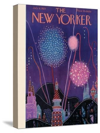 The New Yorker Cover - July 6, 1929