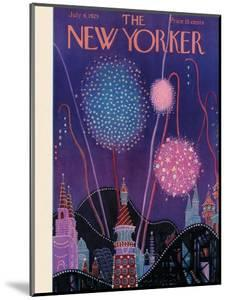 The New Yorker Cover - July 6, 1929 by Theodore G. Haupt
