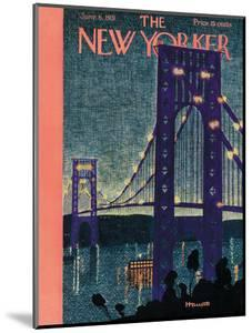 The New Yorker Cover - June 6, 1931 by Theodore G. Haupt
