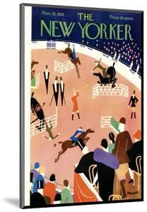 The New Yorker Cover - November 10, 1928 by Theodore G. Haupt