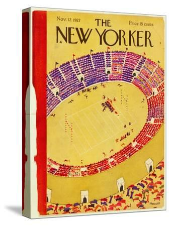 The New Yorker Cover - November 12, 1927