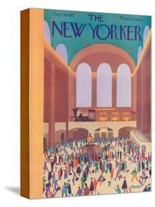 The New Yorker Cover - September 10, 1927 by Theodore G. Haupt