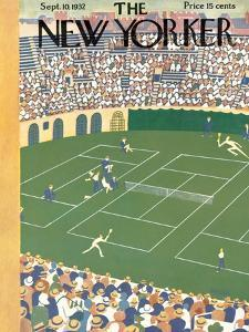 The New Yorker Cover - September 10, 1932 by Theodore G. Haupt