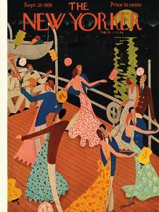 The New Yorker Cover - September 20, 1930 by Theodore G. Haupt