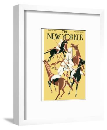The New Yorker Cover - September 3, 1927