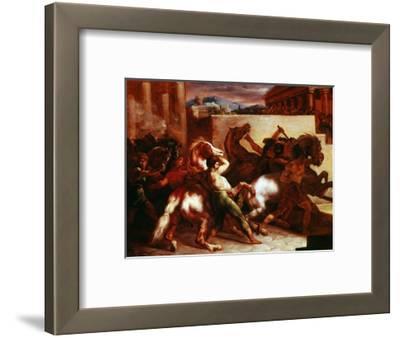 Bareback Horse Race, Rome C.1817