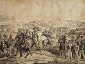 Battle of Maipu, April 5, 1818 by Théodore Géricault