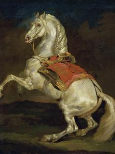 Cheval Cabre by Théodore Géricault