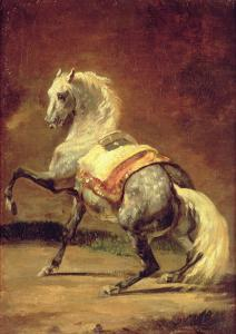 Dappled Grey Horse by Théodore Géricault