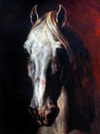 Gericault: White Horse