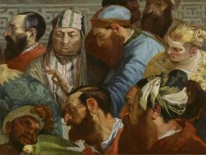 Hochzeit von Kanaa by Théodore Géricault