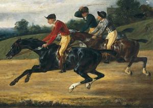 Horse Race by Théodore Géricault