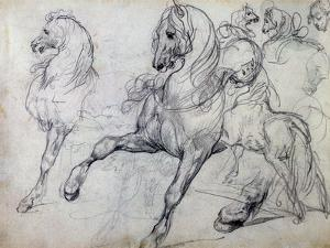 Horses by Théodore Géricault