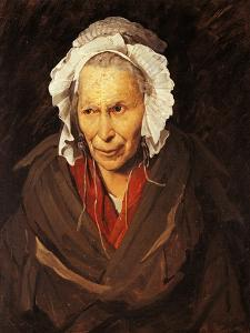 Mad Woman with Mania of Envy by Théodore Géricault
