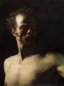 Nude Study, C1810-C1811 by Theodore Gericault