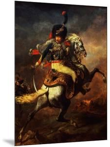 Officer of the Hussars, 1814 by Théodore Géricault