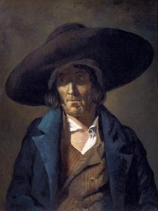 Portrait of a Man Called Le Vendeen by Théodore Géricault