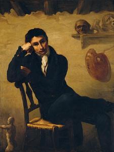 Portrait of an Artist in His Studio by Théodore Géricault