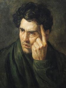 Portrait of Lord Byron (1788-1824) by Théodore Géricault