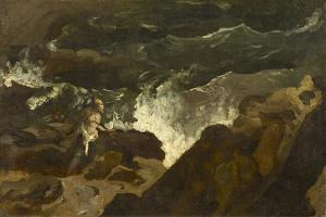 Shipwrecked on a Beach, c.1822-3 by Theodore Gericault