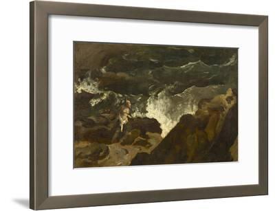 Shipwrecked on a Beach, c.1822-3