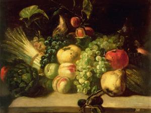 Still Life of Fruit and Vegetables by Théodore Géricault