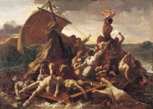 Study for the Raft of the Medusa, 1819 by Théodore Géricault