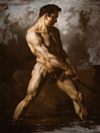 Study of a Male Nude, 1817/20
