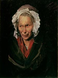 The Madwoman or the Obsession of Envy, 1819-22 by Théodore Géricault