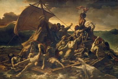 The Raft of the Medusa, 1818-19 by Théodore Géricault