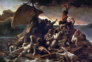 The Raft of the Medusa, 1819 by Théodore Géricault