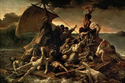 The Raft of the Medusa (Le Radeau De La Médus), 1818-1819