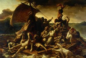 The Raft of the Medusa by Théodore Géricault