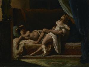 Three Lovers, 1817-20 by Theodore Gericault