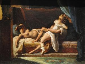 Three Lovers (L'Amour À Troi), 1818-1820 by Théodore Géricault