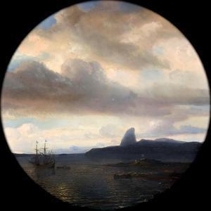 Villegagnon Entering the Bay of Rio De Janeiro on 10 November 1555 by Théodore Gudin