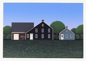 Untitled, Farmhouse 1 by Theodore Jeremenko