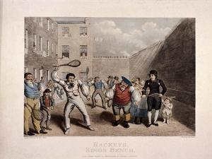 King's Bench Prison, Southwark, London, C1825 by Theodore Lane