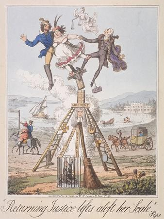 Returning Justice Lifts Aloft Her Scale, 1821