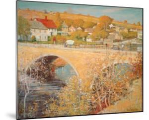 Bridge At Ipswich by Theodore M^ Wendel