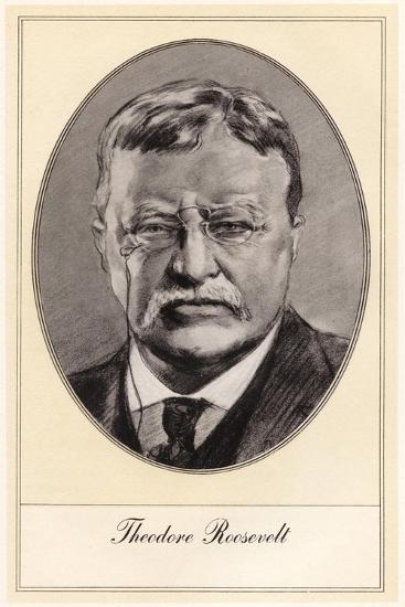 Theodore Roosevelt, 26th President of the United States-Gordon Ross-Giclee Print