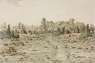 Footpath in the Barbizonnières, 1864