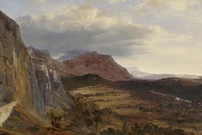 View of Saleve, near Geneva, 1834