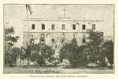 Theological College and Boys' School, Kiungani--Giclee Print