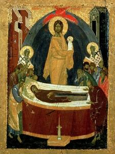 The Dormition, circa 1392 by Theophanes The Greek