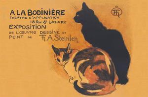 A La Bodiniere - Works, Drawings, Paintings of T. A. Steinlen by Théophile Alexandre Steinlen