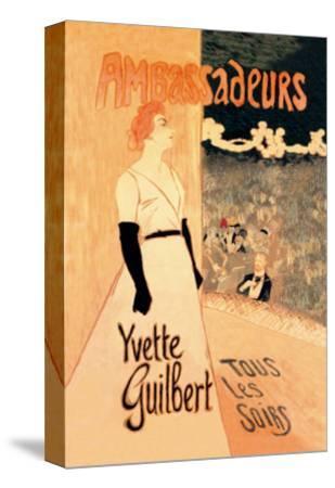 Ambassadeurs: Yvette Guilbert, Tous les Soirs, c.1894