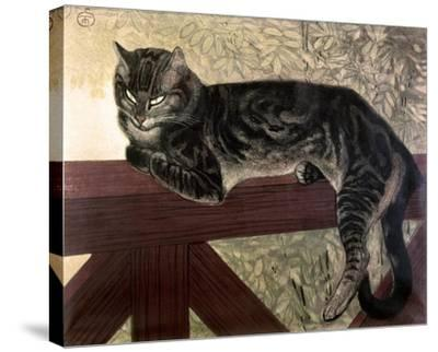 Cat on the Balustrade